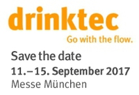 drinktec - Go with the flow.